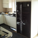 Newly installed bespoke kitchen