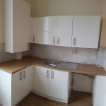 New kitchen installation and worktop