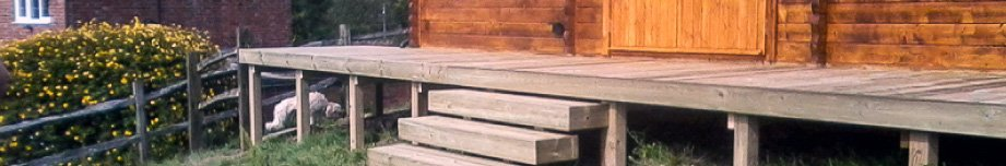 Built Wooden Decking